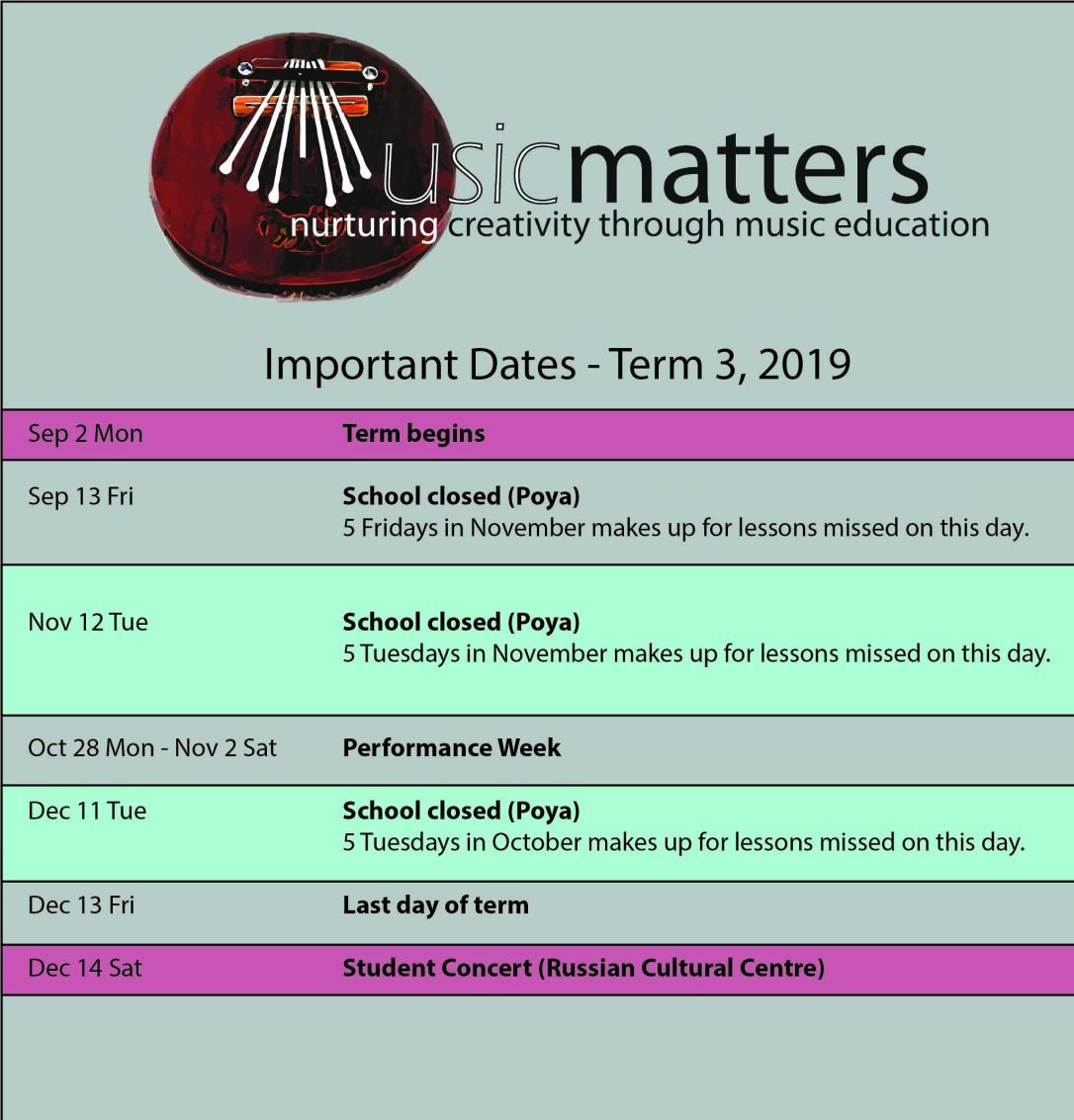 term planner 2019 term 3